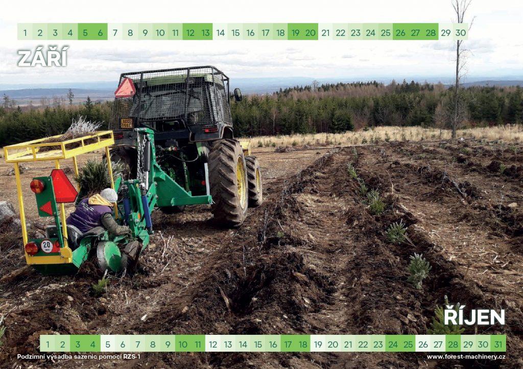 Kalendář 2020 – speciální technika do lesa