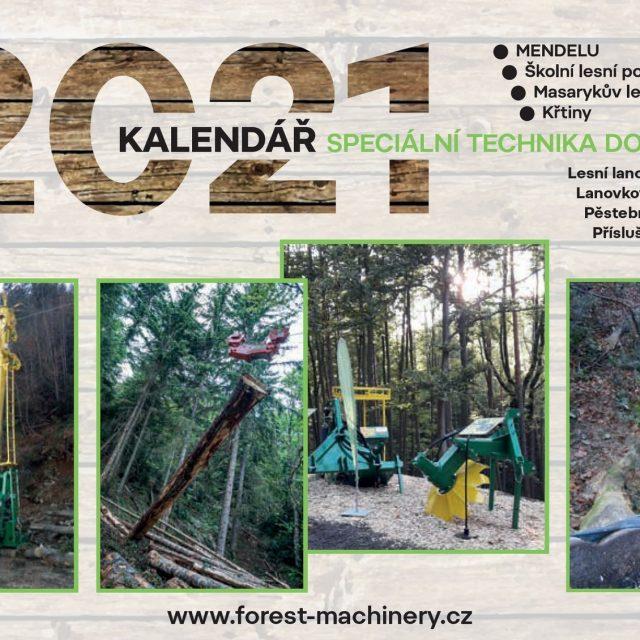 Kalendář 2021 – Speciální technika do lesa